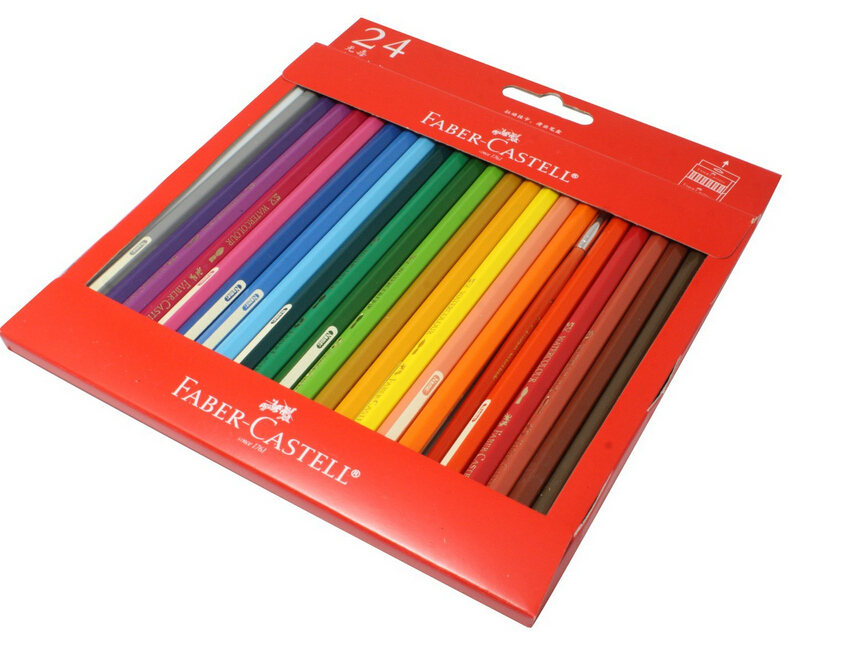 aliexpresscom buy original faber castell watercolour painting pen water soluble colored pencils 24 box with high quality from reliable color pencil - Best Colored Pencils For Coloring Books