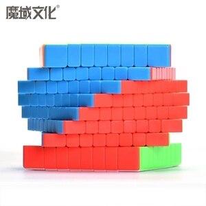 Image 4 - Moyu mf8 cubo migic 8x8, cubo de velocidade sem adesivo