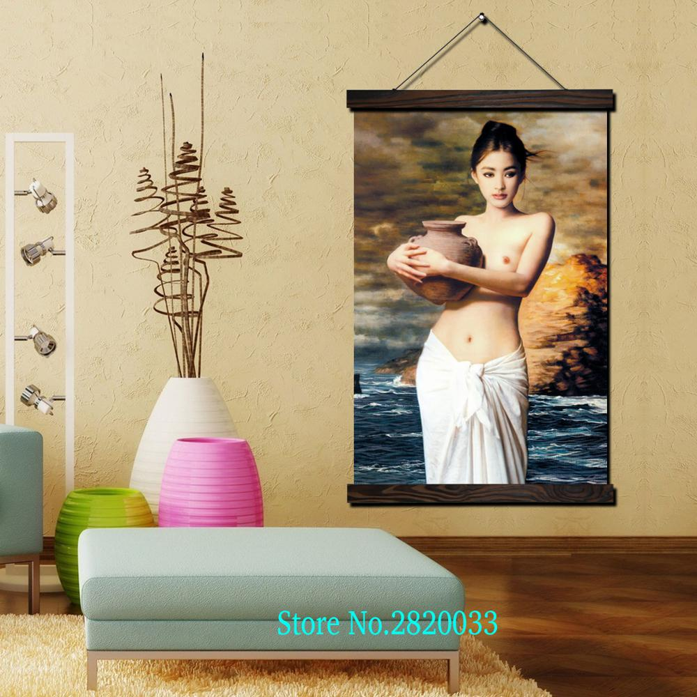 Fancy Asian Canvas Wall Art Composition - All About Wallart ...