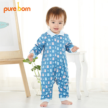 Spring New Toddlers Infant Baby Rompers Long Sleeves Soft Cotton Newborn Baby Clothing Baby Infant Clothes