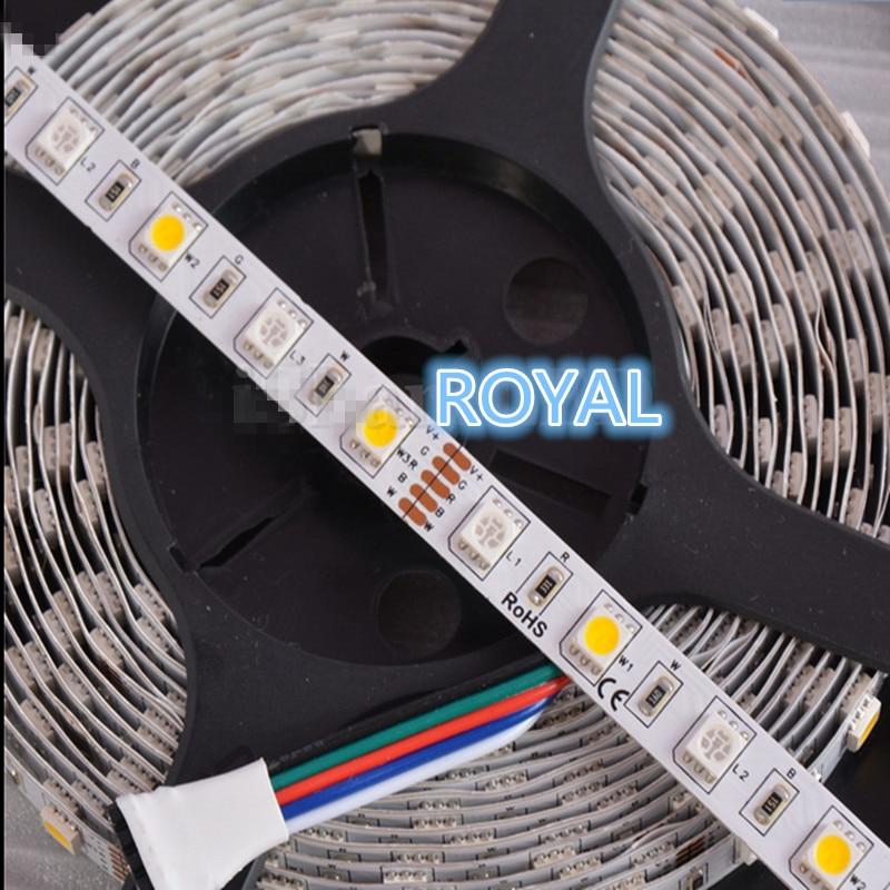 Nepromokavé RGBW RGB + (teplé / studené bílé) 300 LED 60let / M - LED Osvětlení