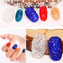1.2mm 1440pcs Crystal Chaton Nail Art Pixie Rhinestone Micro Pixie Make Up Manicure Decoration Tiny Mini Pixie Rhinestones цена