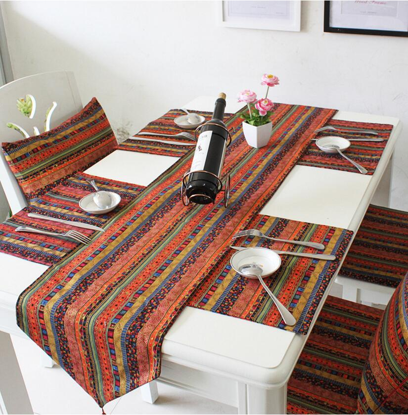 Vintage Table Runner Cloth dining table mat coffee tea table
