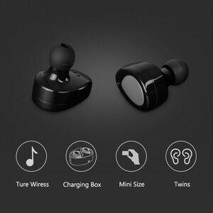 Image 3 - Aimitek K2 TWS Bluetooth Kulaklık Gerçek kablosuz kulaklık Mini Stereo Müzik Kulaklıklar Hands free Mic Ile Şarj Kutusu Telefonlar için
