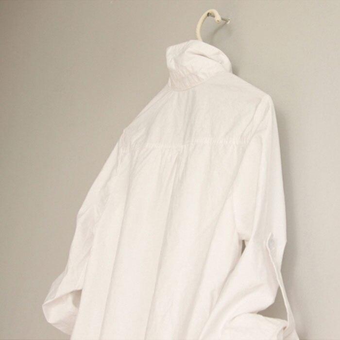 lange slim blouses vrouw