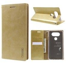Для LG V20 случаях Mercury Goospery Blue Moon Бумажник кожаный чехол для LG V20-5.7 дюймов
