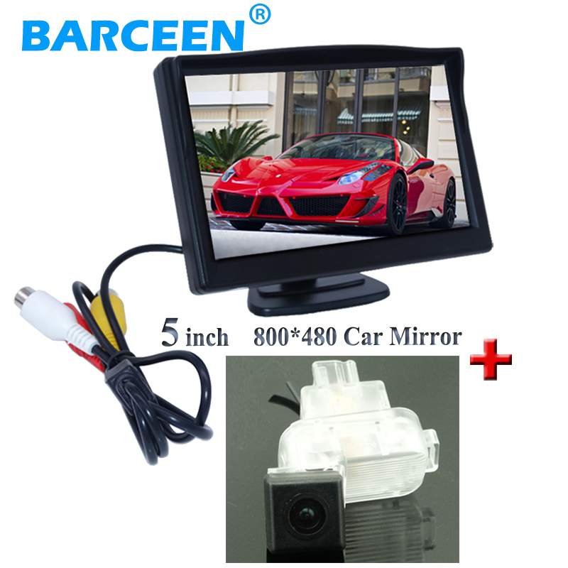 Car display monitor 5 lcd display with 170 wide view angle car parking camera rainproof use for Mazda 6 (2014~2015)/ATENZA