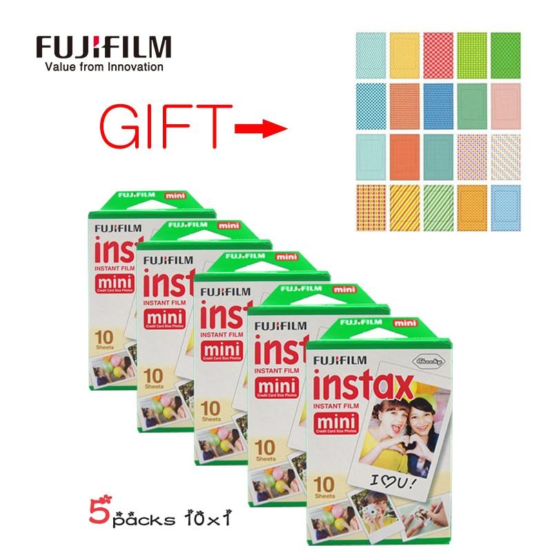 Fuji Fujifilm Instax Mini 8 Film 50 Sheets For Fujifilm Instant Mini 7s 25 50s 90