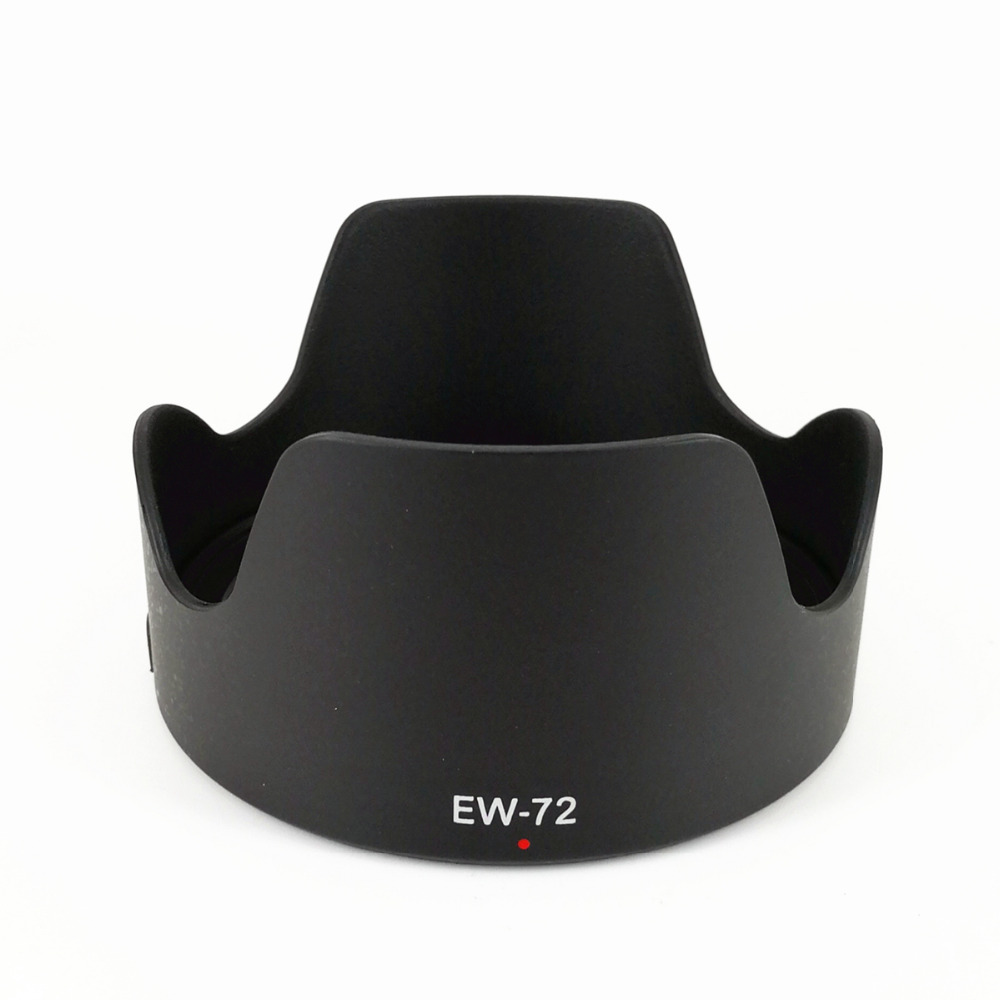 Flower Petal Lens Hood Shade Replace EW-72 For Canon EF 35mm F/2 IS USM / 35 Mm F2 IS USM EW72 EW 72