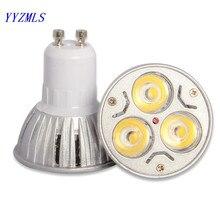 GU10 MR16 E14 E27 led 9 Вт 12 Вт 15 Вт ГУ 10 лампа с регулируемой яркостью Светодиодный точечный светильник 220 В 110 В светильник вниз теплый белый холодный белый светодиодный светильник