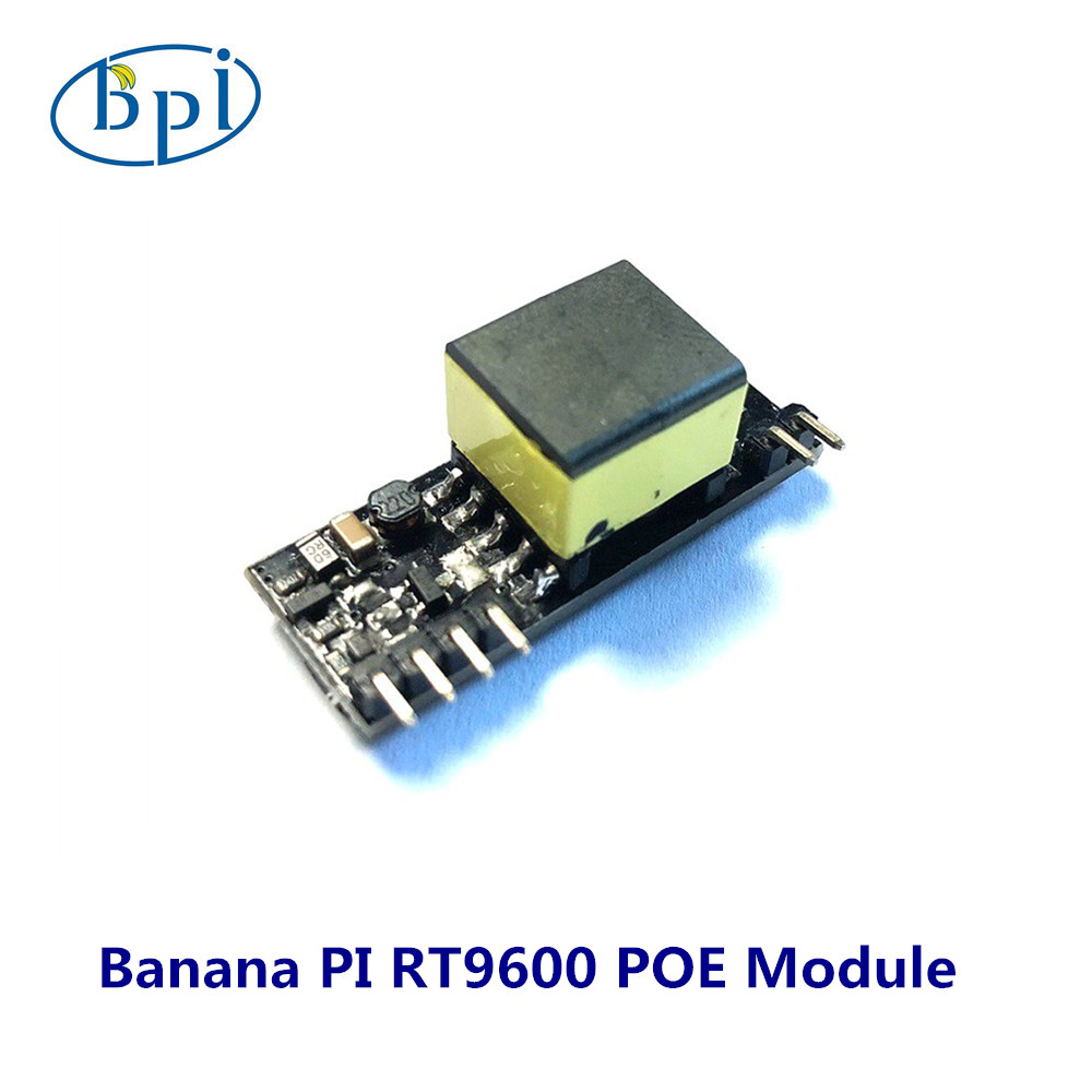 Banana PI RT9600 Modulo POE, si applica a Banana PI P2 ZERO Board & BPI P2 MakerBanana PI RT9600 Modulo POE, si applica a Banana PI P2 ZERO Board & BPI P2 Maker
