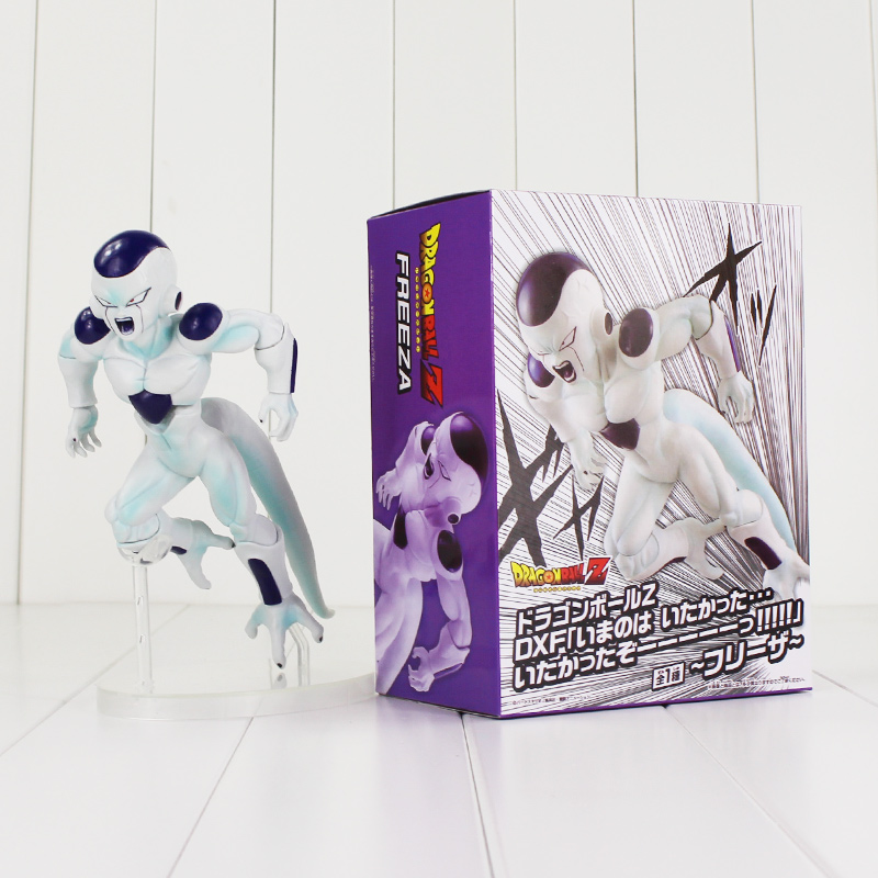 18cm Dragon Ball Z Freeza Figure Toy Final Complete Body Mode Frieza Anime DBZ Collectible Model