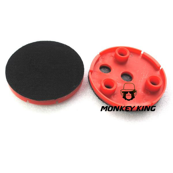 4 Inch 100mm Plastic Backer Pads Backing Plate Adapter With 3 Holes For Klindex Floor Grinding Machine Angle Grinder