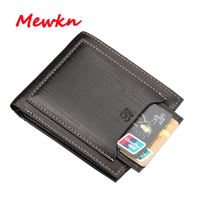 Fashion Wallet Men's Wallets Short Purse Men PU Leather Luxury Designer Brand Wallet Men Purse Credit Card Holder Male Purses