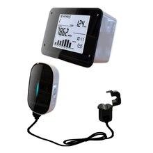 GuSuo ไร้สายไฟฟ้า Monitor กระชับสัดส่วน Plus Energy Saver Monitor ประหยัดพลังงานเครื่องวิเคราะห์เมตรสำหรับความร้อนอินฟราเรดระบบ