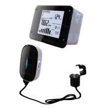 GuSuo Monitor inalámbrico de energía, ahorrador de energía, Analizador de energía, medidores para sistema de calefacción infrarroja