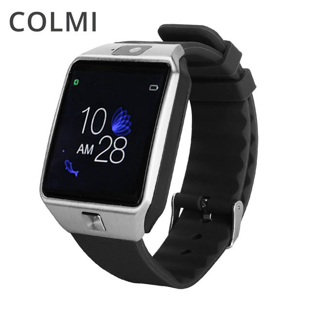 Online Shop COLMI G12 Bluetooth reloj inteligente Smart Watch Anti-lost SIM  TF Card with Camera Smartwatch for IOS Android VS DZ09 A1 GT08  e49cab4df25