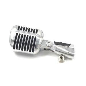 Image 2 - KSOAQP coque en métal corps pour 55SH II professionnel dynamique Microphone Vocal classique Style Vintage Microfone 55 SH série II