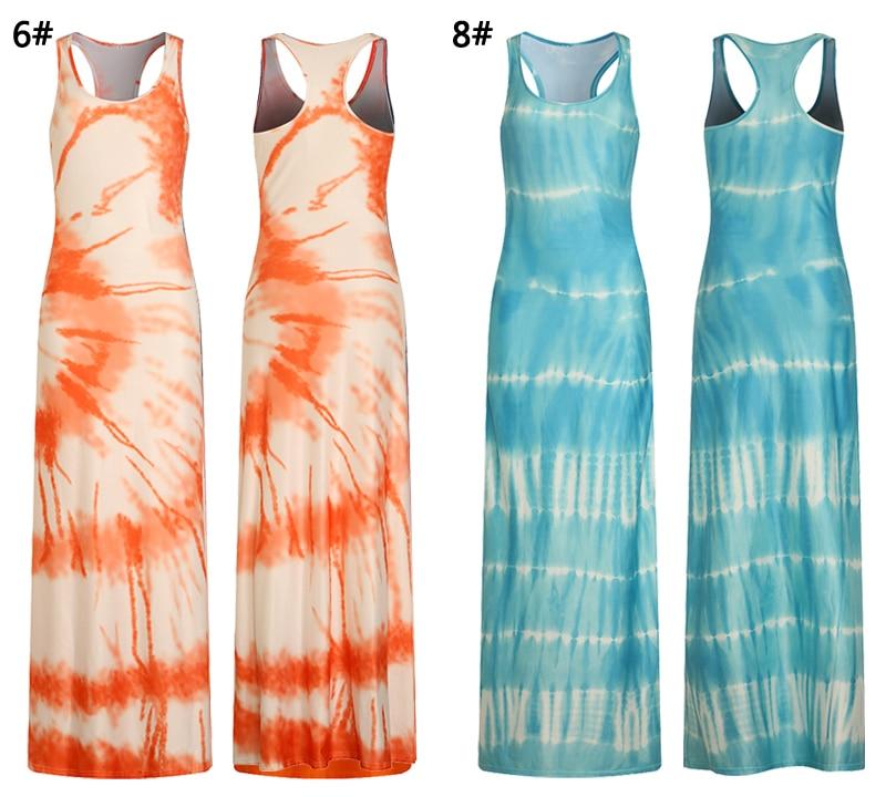 2018 Women Summer Casual Beach Maxi Dresses Boho Floor Length Elegant Bodycon Party Long Bohemian Dress Plus Size 3XL 4XL 5XL 12