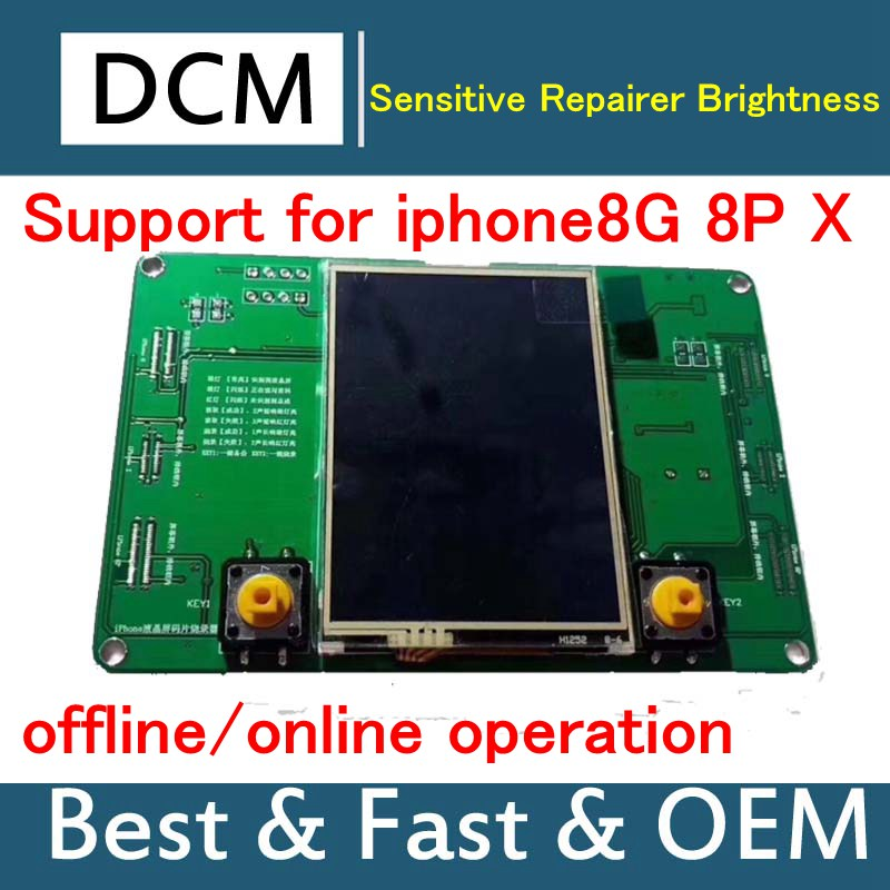 For iphone8 8P X Sensitive Repairer Brightness Adjustment LCD Chip Programmer Supports offline/online operation english versionFor iphone8 8P X Sensitive Repairer Brightness Adjustment LCD Chip Programmer Supports offline/online operation english version