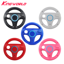 Hight quality RV77 Plastic Steering Wheel For Nintendo for Wii Racing Games Remote Controller Console