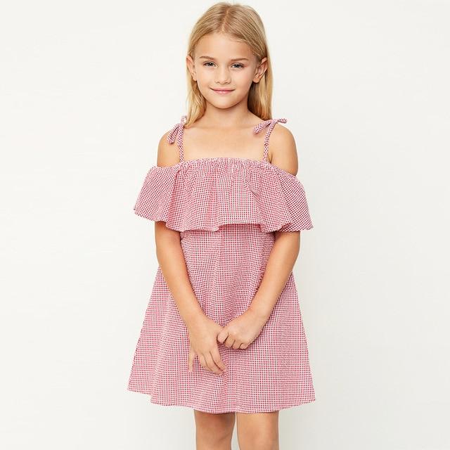 teenage girl dress pendulum autumn age 8 10 12 13 autumn sundress clothing anchor blue clothes fancy frock vintage gowns