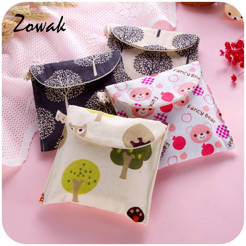 Bag Pouch Case Towel-Holder Storage-Bag Cosmetic-Organizer Sanitary-Towel Cotton Brief