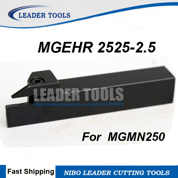 10pcs MGMN250-M PC9030 2.5mm wide Grooving blade  cut off CNC carbide INSERT