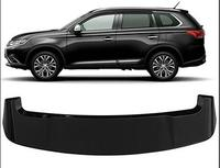 WOOBEST ABS Rear Wing Rear Trunk Rear Spoiler for Mitsubishi outlander 2013 2014 2015 2016, big size version