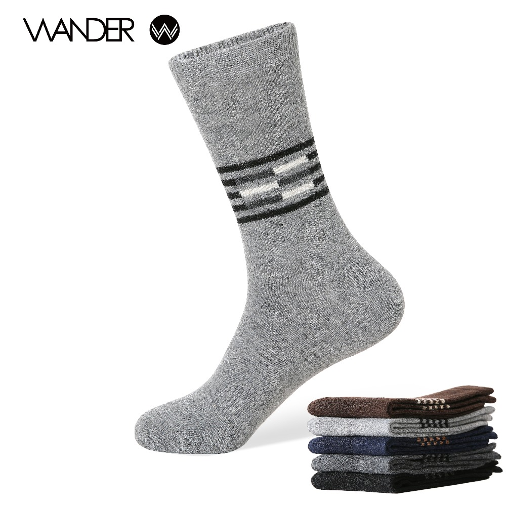WANDER font b Men s b font winter warm font b socks b font man The