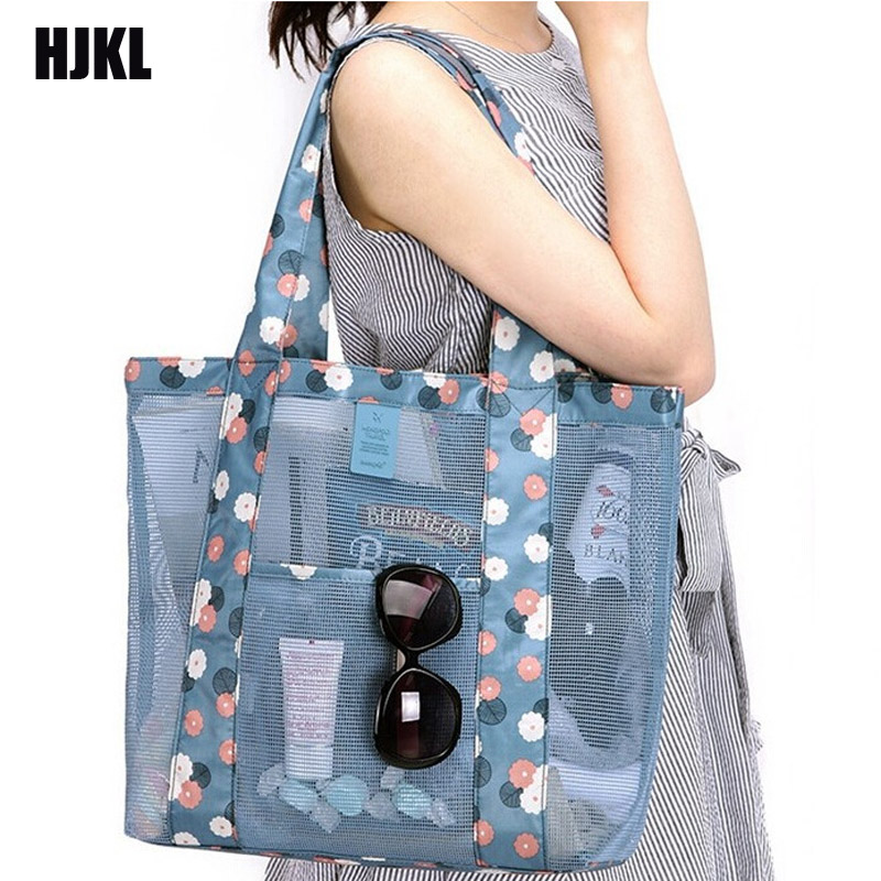 New Korean Travel BagClothing Cosmetics Package Lady Beach Tote Bag  Multifunction Fashion Women Shoulder
