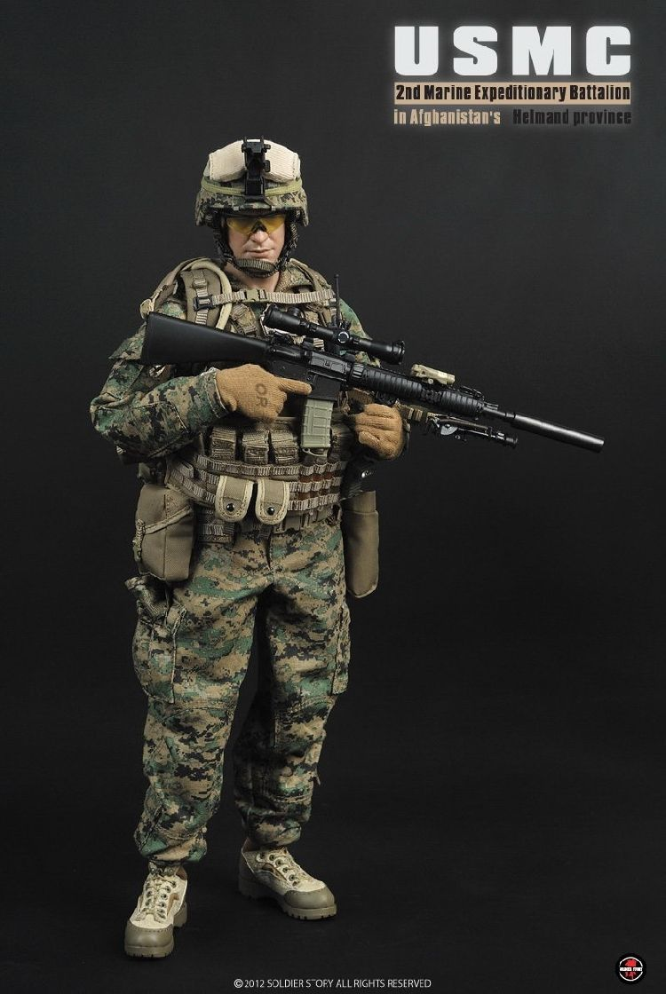 1/6 Scale Solider Action Figure Model Toys US Marine Corps SS066 USMC 3.0 Model Gifts Collections