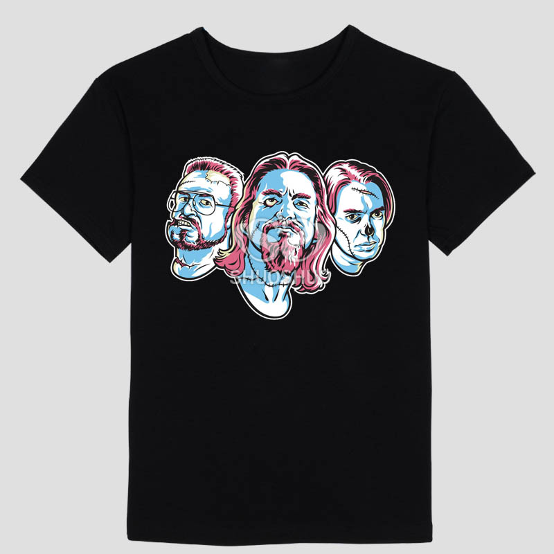 dawn of the dead The Big Lebowski T Shirt-in T-Shirts from