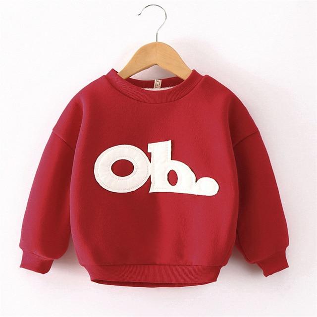 2016 Autumn And Winter Baby Clothing Girl Boy Catch Fashion Pullover Children's Garment Sweatshirt