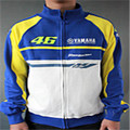 In 2017 the new winter suitable for Honda MOTO GP  YAMAHA motorcycle hooded coat MOTO GP yellow jacket