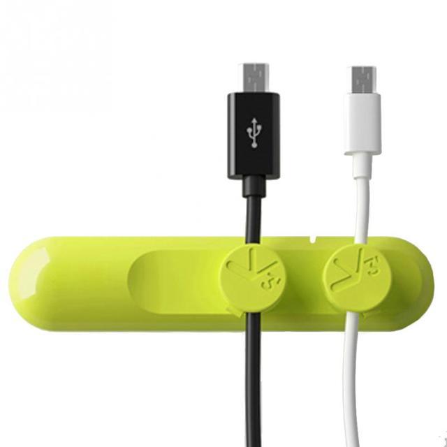 자석 케이블 와인 더 이어폰 케이블 주최자 관리 와이어 저장 USB 케이블 장치 충전기 케이블 주최자