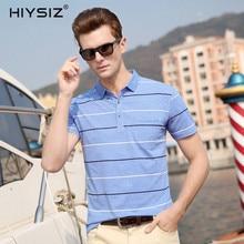 HIYSIZ New Hot T-Shirts 2019 Soft Streetwear True Pocket White Black Striped Casual  Men T Shirt TShirts For Summer ST006