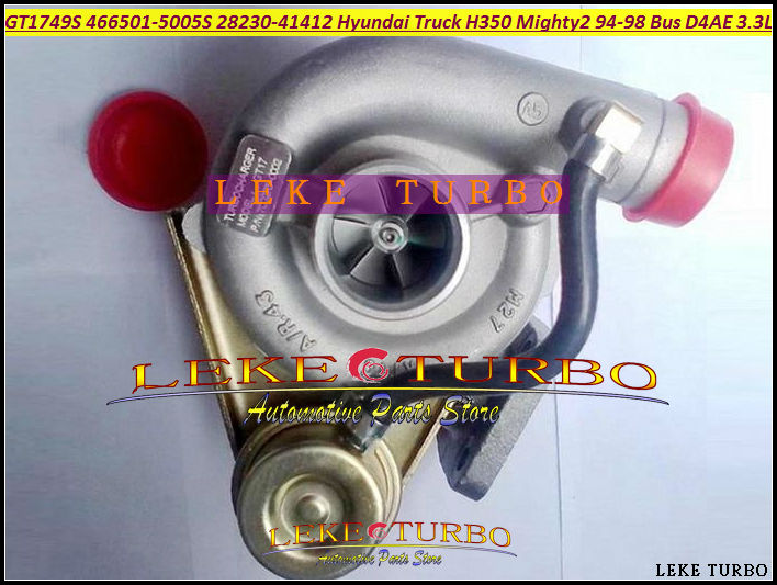 Free Ship GT1749S 466501 466501-0005 28230-41411 Turbo Turbocharger For HYUNDAI Truck H350 Mighty II Chrorus Bus H600 D4AE 3.3L  цены