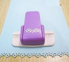 Новое прибытие жасмин цветок форма границы удар пены бумаги выбивая удар Край ремесло удар записки штампы для бумаги вырезать
