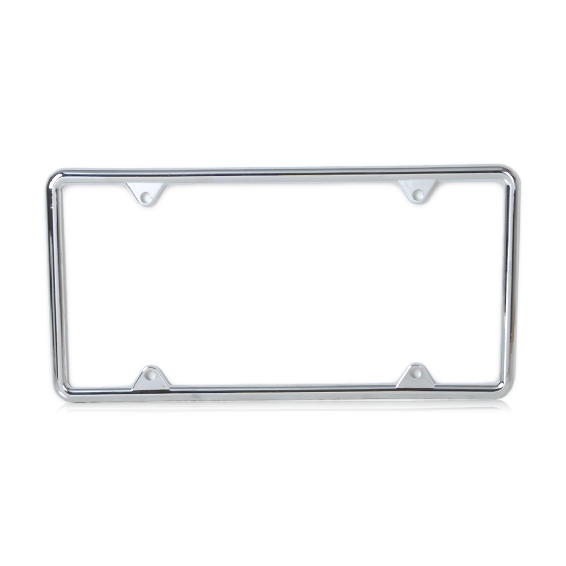 Beler Silver Zinc Alloy License Plate Frame For Almost All