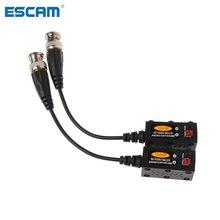 ESCAM 1 Par 1CH Passive UTP CCTV Vídeo Balun Transceiver Para HDCVI HDTVI AHD Câmera CVBS