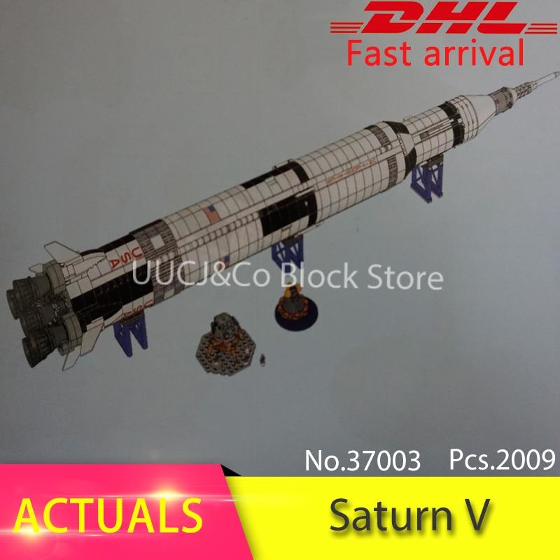 LEPIN 37003 1969pcs Creative Apollo Saturn V Launch Vehicle Building Blocks Bricks Toys For Children Compatible 21309 Boys Gift apollo ru bun lock children puzzle toy building blocks
