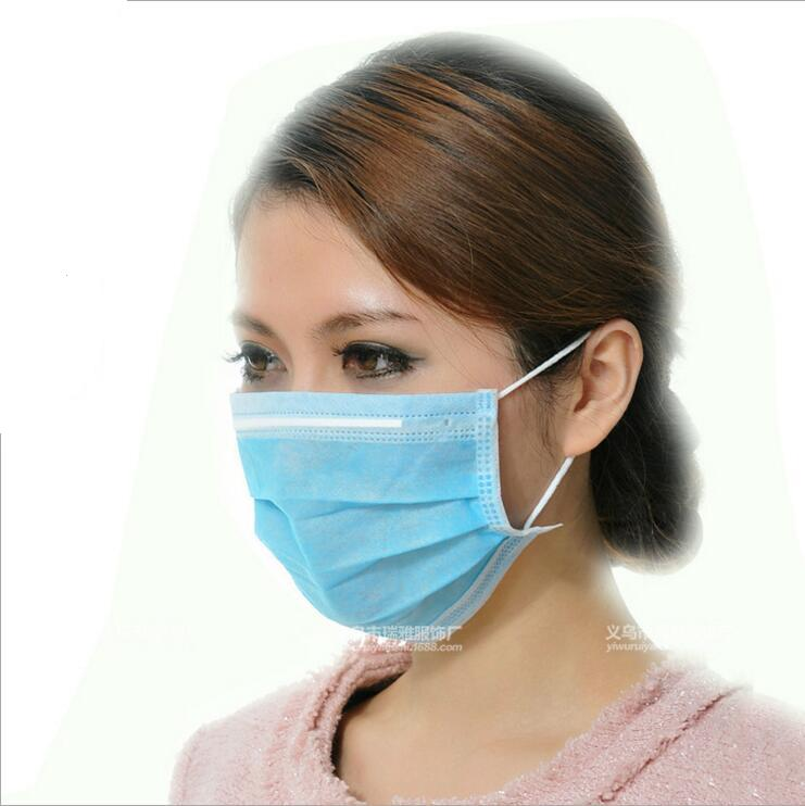 10pcs Medical Masks Non Woven Disposable Anti Dust Mouth