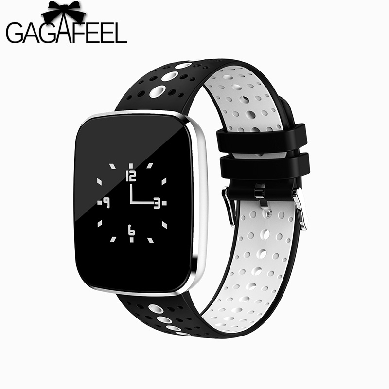 GAGAFEEL Heart Rate Monitor Women Men Smart Watch Bracelet Blood Oxygen Pressure Monitor Clock for IOS iPhone Android cute love heart hollow out bracelet watch for women