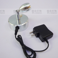 Rechargeable Battery Lamp Comes Wbattery LED Spotlight Power Setting Emergency Light Display Lamp