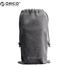 ORICO Наушники Защиты bayportable Drawstring чехол для телефона/Запасные Аккумуляторы для телефонов бархат упаковка Сумки и подарок Сумки для многих объектов