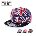 2016 New Arrival Hip Hop Hat Baseball Cap Male and Female British Flag with The Cap Lovers Hat Tide B-1651