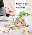 Новый высокое качество механическая молотилка орех щелкунчик щелкунчик быстрый Открывалка Кухонный Инвентарь фрукты и овощи