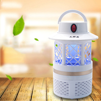 USB Electronics Mosquito Killer Trap Moth Fly Wasp Led Night Lamp Bug Insect Light Killing Pest Zapper for baby outdoor bedroom