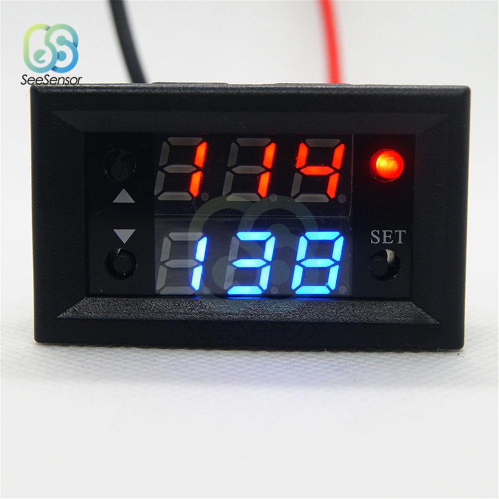 12V DC Adjustable Delay Timer Control Switch//Relay Module LED Digital Display